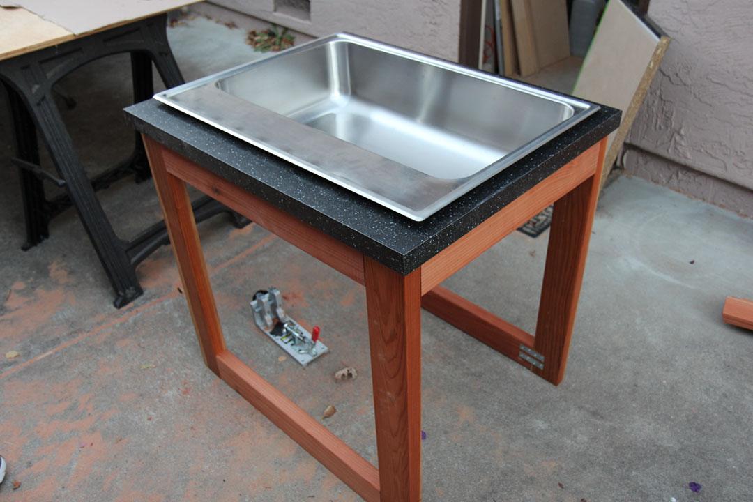 sink cabinet frame