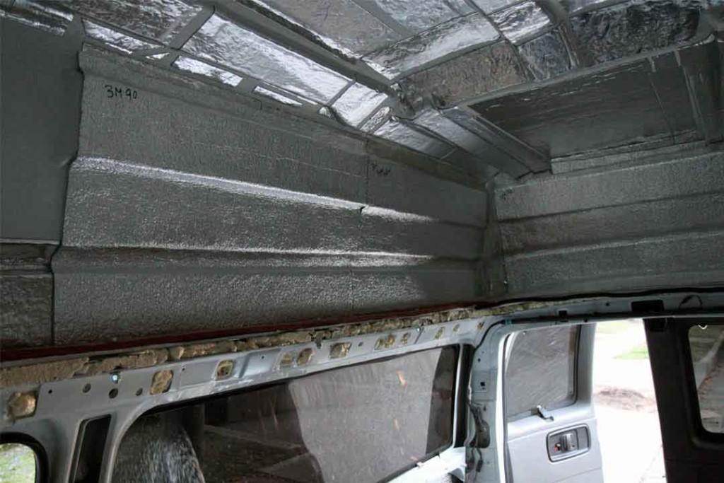 Low-E insulation on the walls