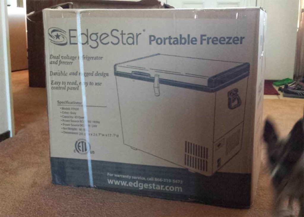 Edgestar portable freezer