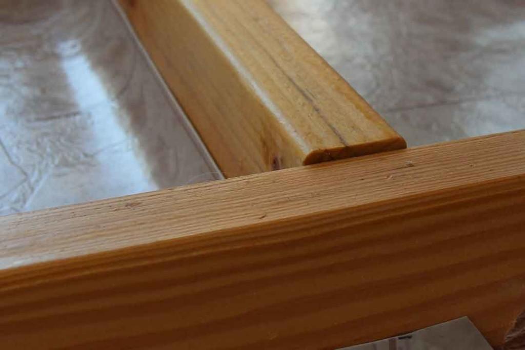 uneven framing for under floor storage
