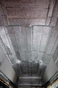 insulation inside van high top
