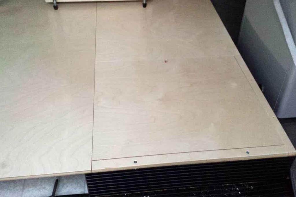 storage in van floor