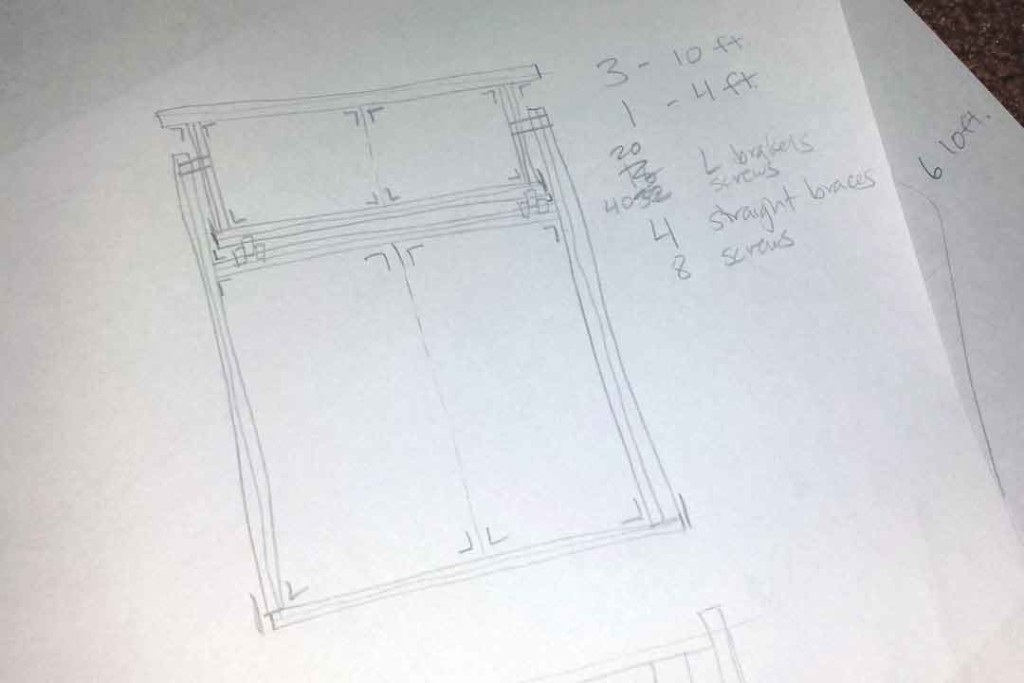 new bed plans for van