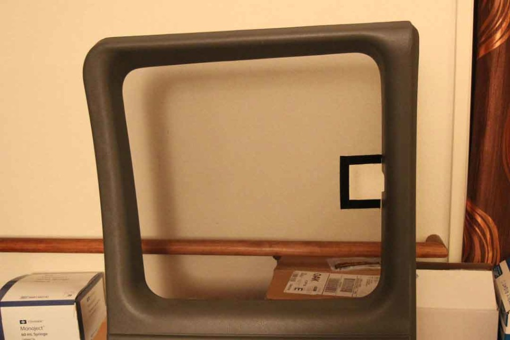 Screen for van window