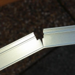 Random image: 150125 curtain track ripped