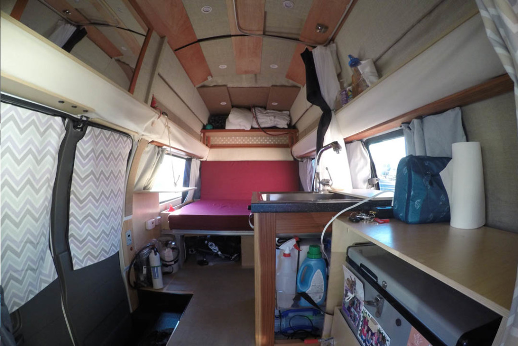 160107 Awesome Van Conversion