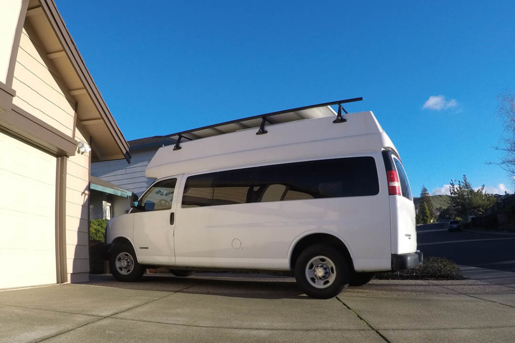 160107 Conversion Van Exterior