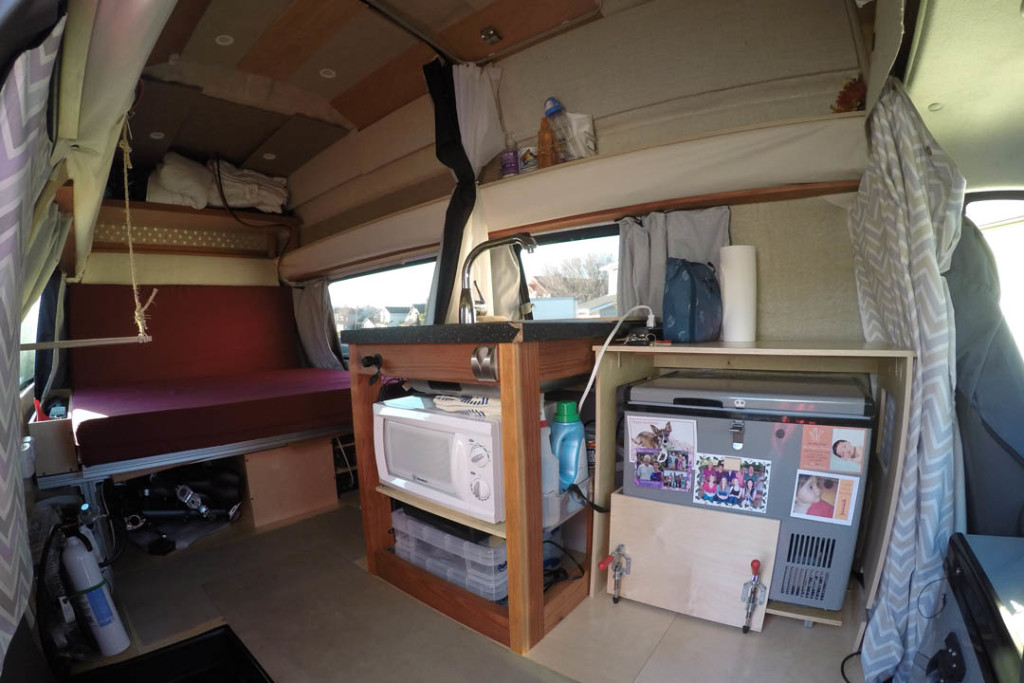 Gypsy My Super Awesome Camper Van Conversion