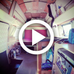 Girl Builds Camper Van – 32 months in 4 minutes