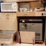 Camper Van Shower and Kitchen 2.0